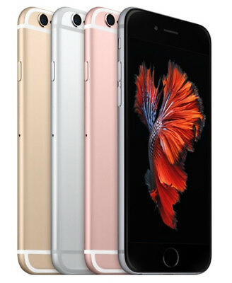 Apple Iphone 6S 16Gb 64Gb 128Gb (T-Mobile) Smartphone Gray Silver Gold Rose