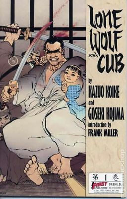 Lone Wolf and Cub (1987 First) #1-2ND VF