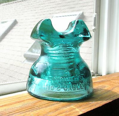 Great Aqua Cd 252 Knowles Cable Glass Insulator