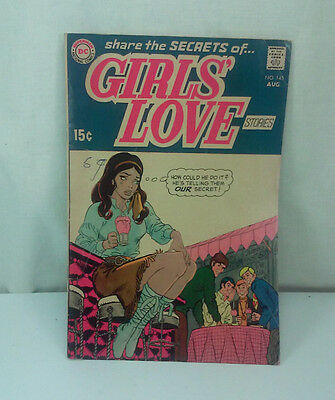 Aug 1969 Girl's Love Stories Tears For Tomorrow No 145 Silver Age Comic