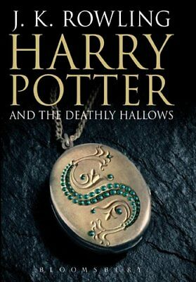 Harry Potter and the Deathly Hallows (Book 7) [Adult Edition]-J. K. Rowling