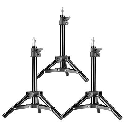 Neewer Set of 3 Mini Aluminum Photography Light Stands for Relfectors, Softboxes