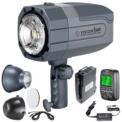 Neewer Vision5 400W TTL HSS Studio Flash Strobe Kit with Battery for Canon