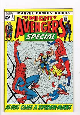 Avengers Annual # 5  Spider-Man  grade 8.5 scarce book !!