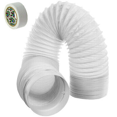 """6m Vent Hose PVC Duct 5"""" Extension for Delonghi Air Conditioner Conditioning"""