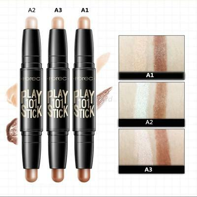2 in 1 Contour Stick Double Ended Highlight Contouring Face Makeup Toutes Sortes