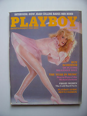 Vintage Playboy April 1984 - Mens Magazine  - $5 Postage