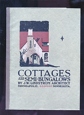 1920's Lindstrom Minneapolis Cottages and Semi-Bungalows architecture catalog