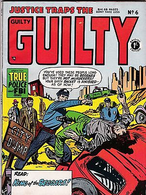 JUSTICE TRAPS THE GUILTY   # 6  1950s   BRITISH EDITION