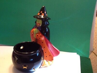 mary engelbreit halloween candle holder