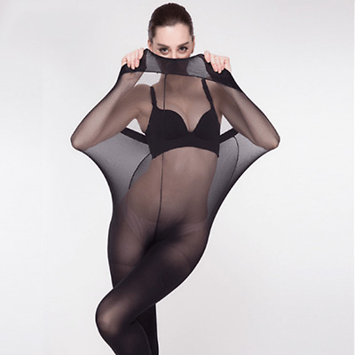 NEW Upgraded Super Elastic Magical Tight Silk Stocking Skinny Leg Sexy Pantyhose