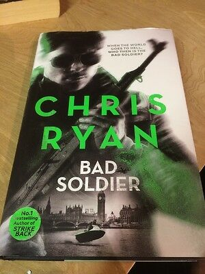 Bad Soldier: Danny Black Thriller by Chris Ryan (Hardback, 2016)