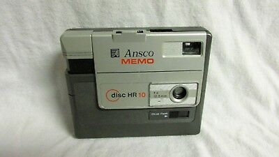 VINTAGE 1980s ANSCO MEMO DISC HR 10 CAMERA