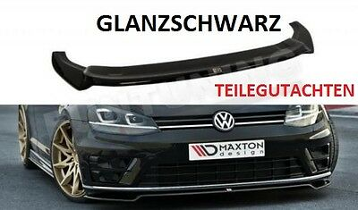 GOLF 7 R R-Line Lippe Diffusor Frontlippe Frontspoilerlippe Frontansatz VW VII
