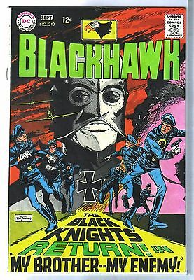 BLACKHAWK #242 My Brother - My Enemy! DC Comic Book ~ FN