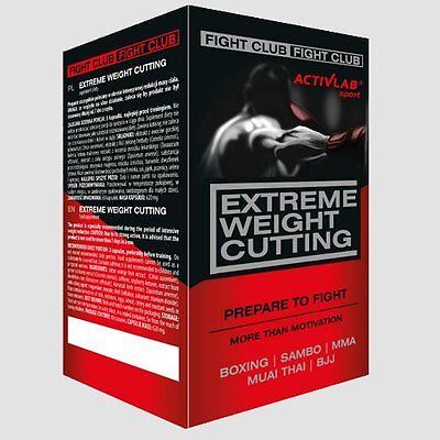 EXTREME WEIGHT CUTTING - Fight Club - Hardcore Fatburner - Nothing is Stronger