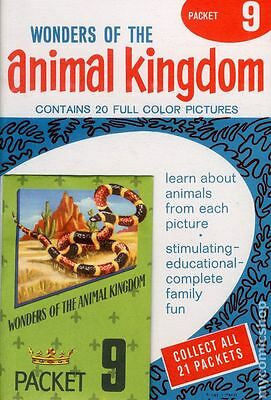 Wonders of the Animal Kingdom Stamp Packets (1959) #9 NM- 9.2
