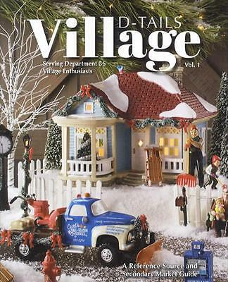 2017 Department Dept. 56 Village D-Tails Collector Price ID Guide 4th Ed