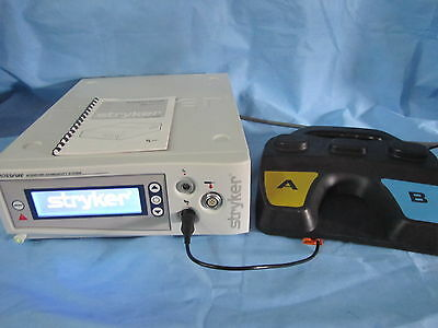 Stryker Crossfire Shaver/ RF System w/ Foot Switch and Operator Manual, TESTED!