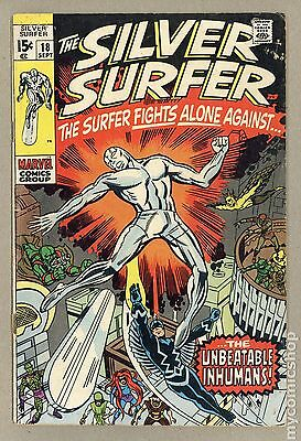 Silver Surfer (1968 1st Series) #18 GD/VG 3.0