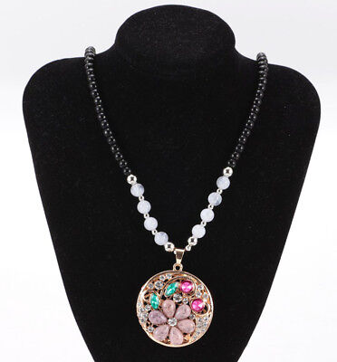Women's Vintage Fashion Jewelry Hot Charm Crystal Pendant Necklace HOT