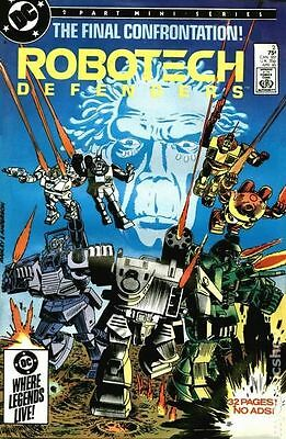 Robotech Defenders (1985) #2 VF