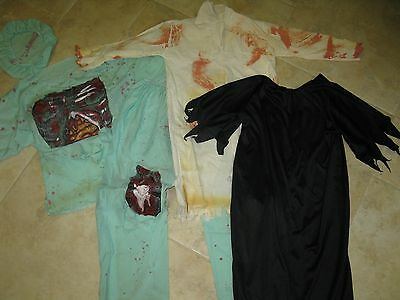 Halloween lot of outfits ect. one doctor and one black dress, great stuff