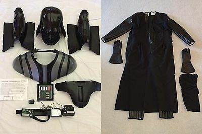 SEE ALL PICS! - DARTH VADER SUPREME Cosplay Adult Star Wars Halloween Costume