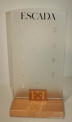 ESCADA Eyewear Frames Display Rack and Sign, Excellent Condition