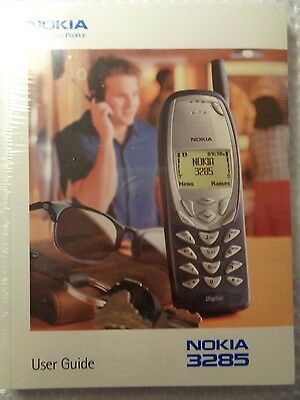 Nokia cell phone User Guide New sealed 3285