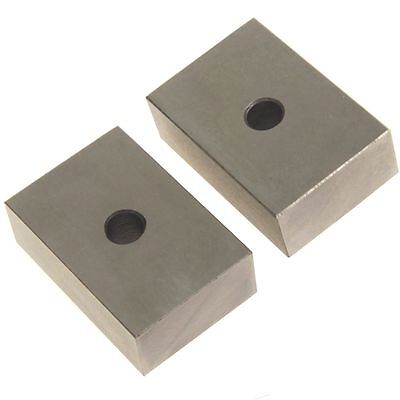 Anytime Tools 1-2-3 Blocks Matched Pair Hardened Steel 1 Hole 123 Set Milling