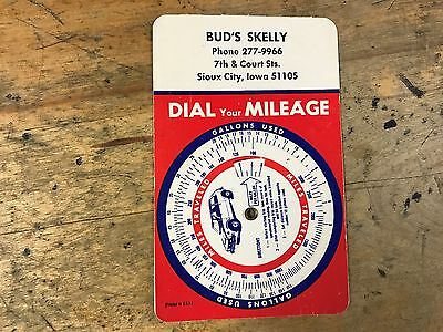 buds skelly  iowa dial your milage chart