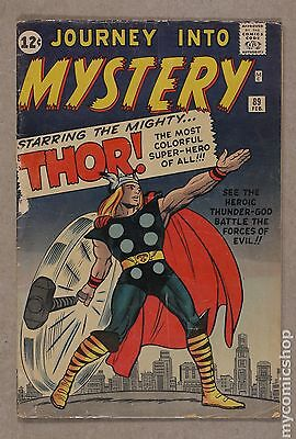 Thor (1962-1996 1st Series Journey Into Mystery) #89 GD 2.0