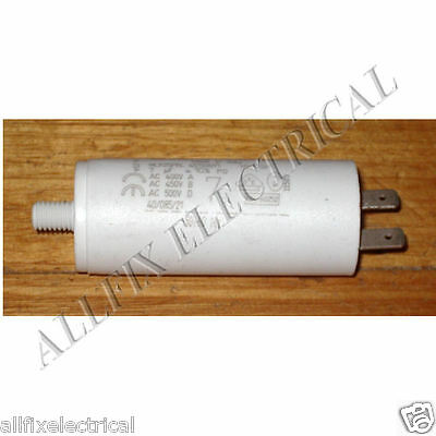 Fisher & Paykel 7uF 400Volt Motor Start Capacitor with Bolt Clip - D323