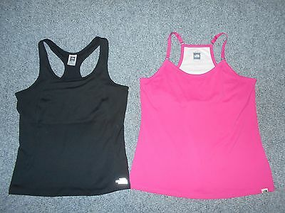 2 The North Face Vapor Wick Womens Xl Racer Back Athletic Tank Tops Lot