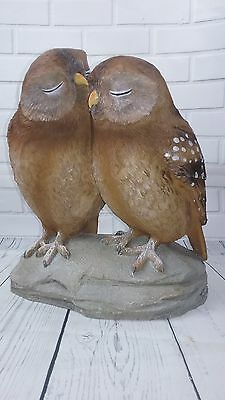 NEW Owl Lovers Statue Sculpture Collectible Figurine **BEAUTIFUL**