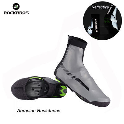 RockBros Cycling Warm Shoe Cover Rain-proof Overshoes Black One Size 36-46