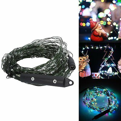 600 LED 36W IP65 DC12V Green Wire Lights Fairy String Party Xmas (Auto RGB)
