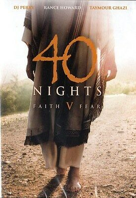 NEW Sealed Christian Bible-based Drama DVD! 40 Nights: Faith V Fear (DJ Perry)