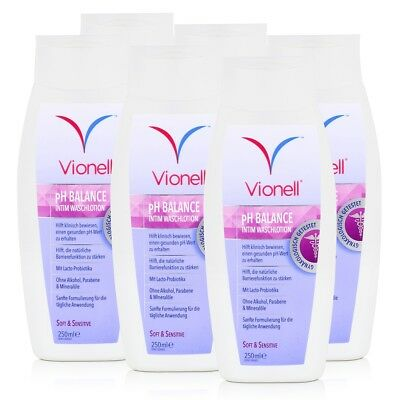 Vionell Intim Waschlotion pH Balance Soft & Sensitive 250ml (6er Pack)