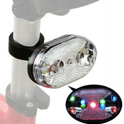 New Cycling Bike Bicycle 9 LED Taillight Safety Warning Lamp Rear Light