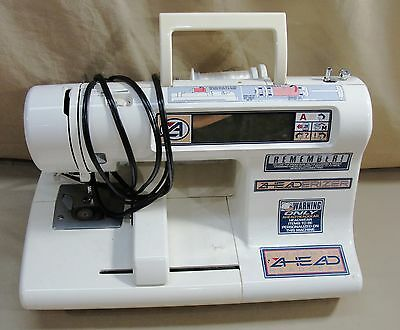 Ahead Gear Aheaderizer Embroidery Sewing Machine Computerized Hat Cap