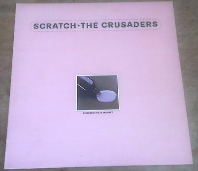 THE CRUSADERS scratch 1974 UK ABC STEREO VINYL LP
