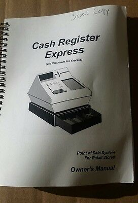 Cash Register Express Owners Manual