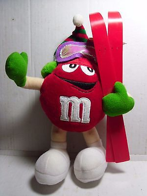 "M&M's Red ""Skier"" Plush"