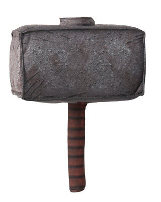 Marvel Comics Mighty Thor Toy Plush Hammer Weapon Costume Accessory