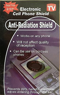 8 - CELL PHONE - Anti-Radiation Shield - Tablets, Ipads, Iphones, Pagers,