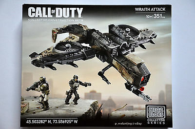 Mega Bloks Call Of Duty Collector Series Wraith Attack 351Pcs Dkx54 New