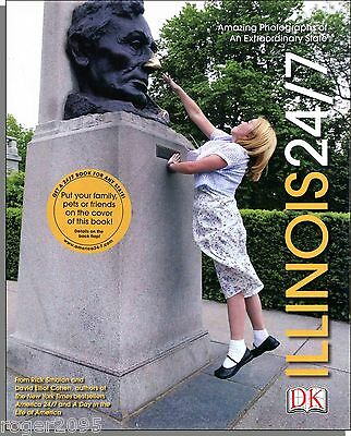 Illinois 24/7 (2004) - A Big, Spectacular Coffee Table Book of Illinois People