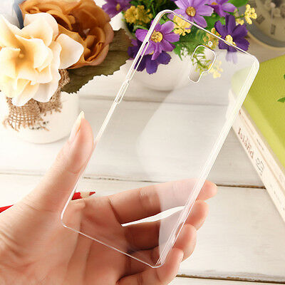 Ultra Thin Crystal Clear Transparent Hard Plastic Cover Case For XiaoMi Mobile